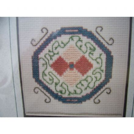 Letter O Counted Cross Stitch Kit